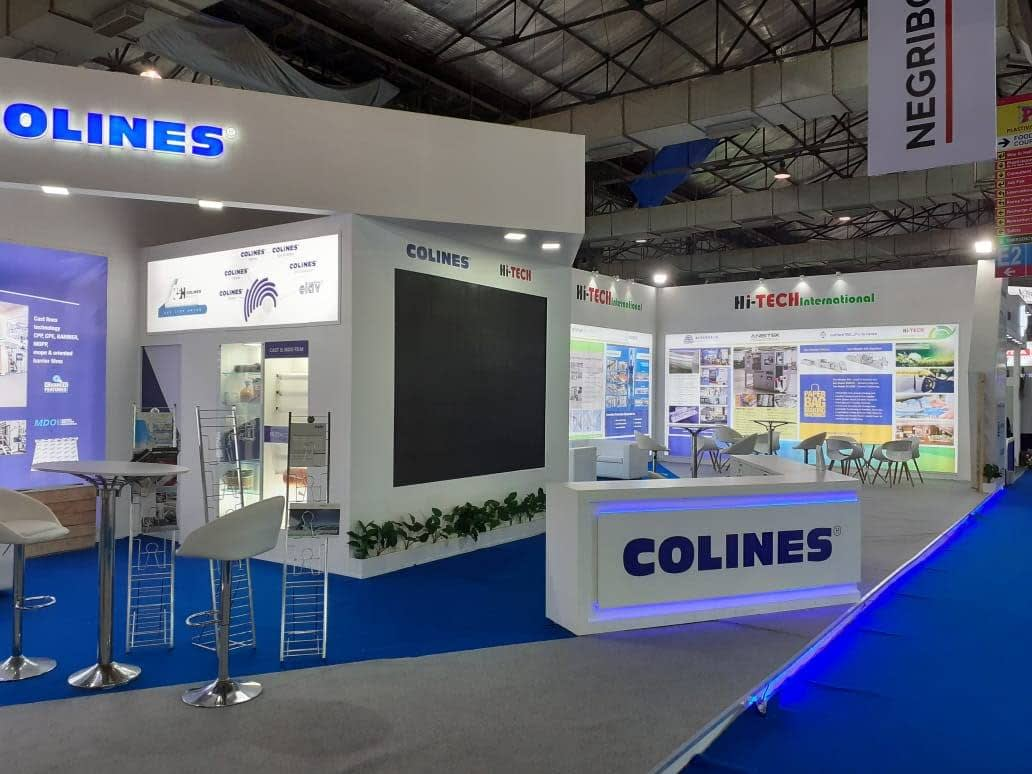 Hi-Tech and Colines Exhibition Stall Designing at Plastivision 2020 - View 05
