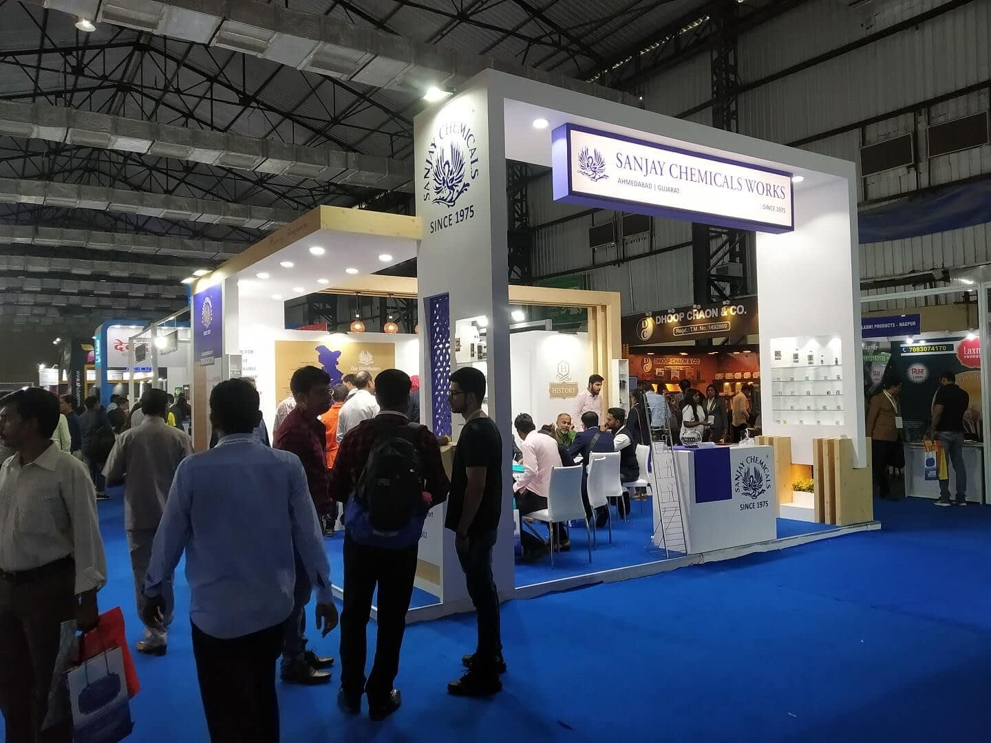 Exhibitors to demonstrate how stalls look at the exhibition