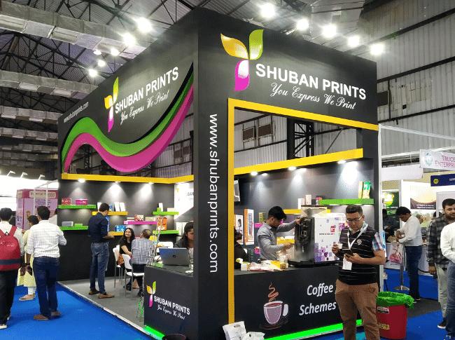 Shuban Prints - Exhibition Stall