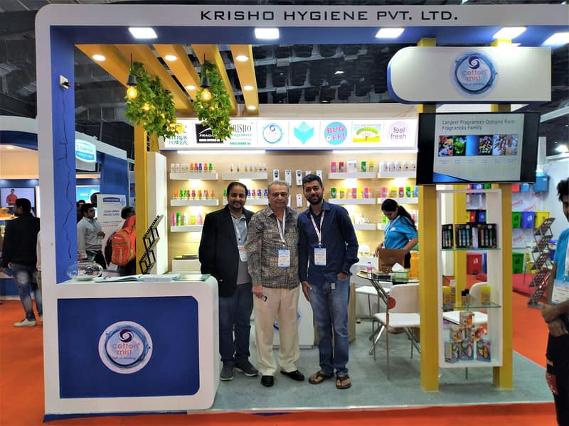 Krisho's client with Jayesh